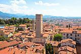 View of Bergamo, Italy
