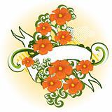 flower background design