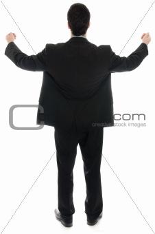 Business man worship