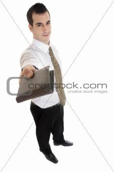 Business man wallet