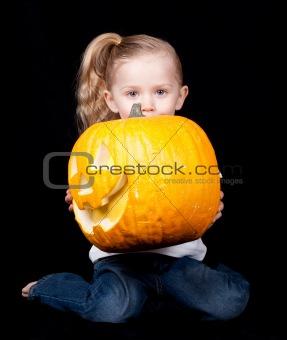 Kneeling Pumpkin