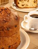 Panettone for breakfast