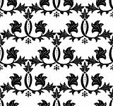 Seamless Ornament Pattern. Vector