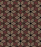 Seamless decorative geometric pattern.