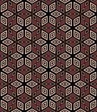 Seamless decorative geometric pattern.