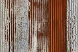 corrugated rusty iron