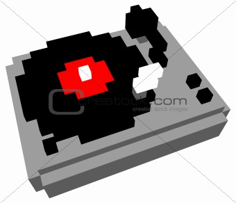 Cartoon turntable