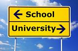school and university education