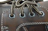 macro of a shoe