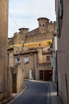 castle of Carcassonne - south of France