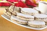 Peruvian Cookies Called Alfajores