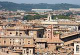 View of panorama Rome, Italy