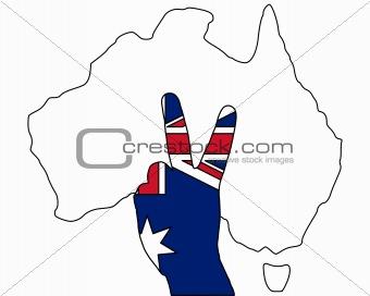 Australian finger signal