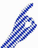 Bavarian finger signal