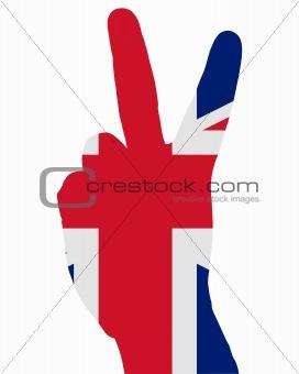 British finger signal