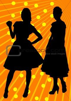 Slender girls