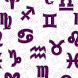 Seamless horoscope pattern
