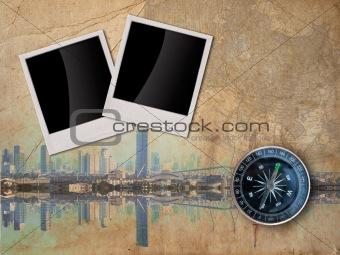 City Travle concept background