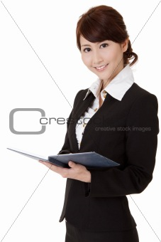 Asian executive woman