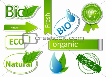 Bio sticker set