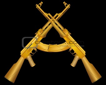 two gold ak