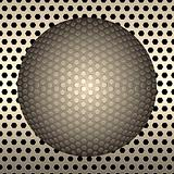 ball of metal background