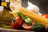 Ingredients for Italian Pasta 2