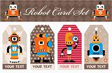 robot card