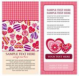 Stock Vector Illustration: valentine heart card