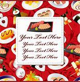 Japanese food card