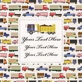 truck car card