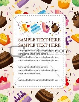 cake card