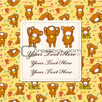 bear card