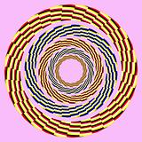eccentric rotating circle.