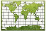 Green Grass World map