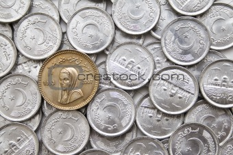 Coin in memory of Benazir Bhutto