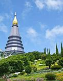The pagoda on Doi Inthanon