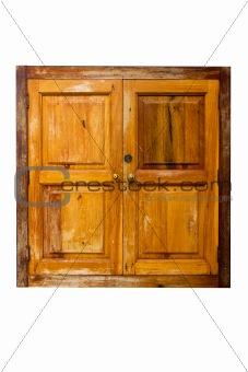 Old window wooden
