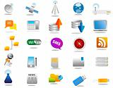 Technology - Set of different communication icons