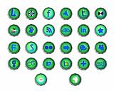 Set of different web icons