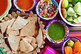 Mexican sauces pico de gallo habanero chili sauce