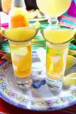 tequila salt lemon alcohol mexican drink