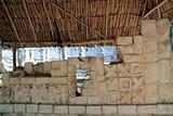 Chichen Itza hieroglyphics Mayan ruins Mexico
