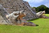  Kukulcan serpent El Castillo Mayan Chichen Itza
