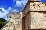 Chichen Itza hieroglyphics Mayan ruins Mexico