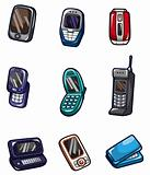 cartoon Mobile phone icon