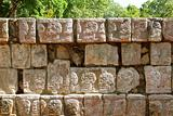 Chichen Itza Tzompantli the Wall of Skulls