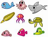 cartoon fish icon