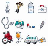 cartoon doctor icon