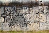 Chichen Itza hieroglyphics mayan pok-ta-pok ball court